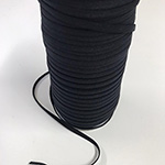 Elastic - Soft Round Elastic in Black