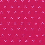 Indah Batiks - Dotty Chevron in Geranium