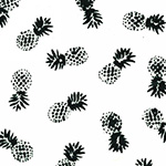 Indah Batiks - Pineapples in Chalk