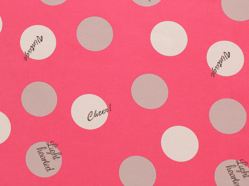 Lighthearted - Big Dot in Hot Pink - Click Image to Close