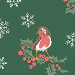 A Festive Collection - Jolly Robin in Green