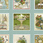 Antique Garden - Labels in Multi