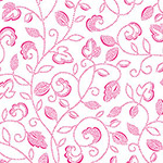 Monsoon - Dotty Scroll in Pink