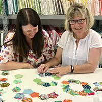 Class - English Paper Piecing with Jennifer Knol