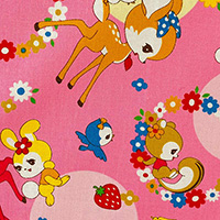 Bambi and Friends - Bambi and Friends in Pink