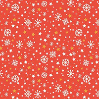 Festive Friends - Snowflakes in Red