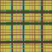 New Vintage - Plaid in Chartreuse