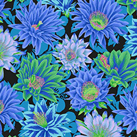 Kaffe Fassett Collective - Cactus Flower in Cool