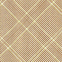 Collection CF - Tartan Single Border in Roasted Pecan Metallic