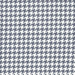 Tiny Houndstooth in Gray