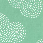 Stitch Circles in Mint
