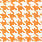 Everyday Houndstooth in Apricot