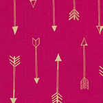 Arrow Flight - Arrows in Fuschia Metallic