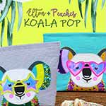 Elton and Peaches Koala Pop - Quilt Pattern