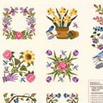 Baltimore Spring - Spring Flowers Panel