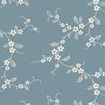 Lucy's Collection - Tiny Flower Chains in Blue