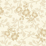 American Beauty - Large Floral Coordinate in Beige