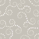 Riley Blake Designs - Boy Swirls in Gray