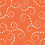 Riley Blake Designs - Boy Swirls in Orange