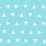 Remix - Tossed Triangles in Aqua