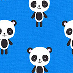 Urban Zoologie - Pandas in Blue