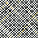 Collection CF - Tartan Single Border in Onyx Metallic