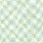 Collection CF - Tartan Single Border in Seafoam Metallic