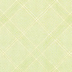 Collection CF - Tartan Single Border in Green Metallic