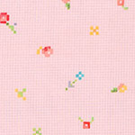 Woodland Clearing - Small Pixels Lawn in Coral