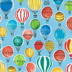 Paris Adventure - Balloons in Multi