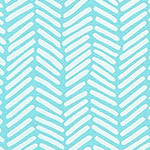 Arroyo Essex - Chevron Brush in Aqua