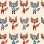 Suzy's Minis - Mini Foxes in Natural