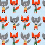 Suzy's Minis - Mini Foxes in Sky
