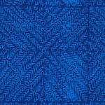 Jasmine - Herringbone Block in Indigo