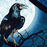 Raven Moon - Raven Moon Panel in Spooky