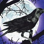 Raven Moon - Raven Moon Panel in Gumdrop
