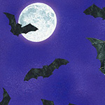Raven Moon - Full Moon Bats in Gumdrop