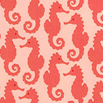 Reef - Seahorses in Peach