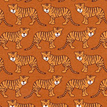 Library - Tigers in Brown