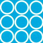 Circles in Turquoise