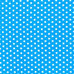 Spot On - Small Spots in Blue