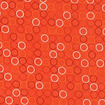 Spot On - Ring Spots in Tangerine