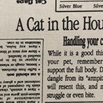 In The Press - Cat in the House in Natural