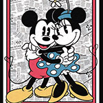 Mickey & Minnie Panel