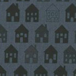 Quilters Basic Perfect - House Charcoal