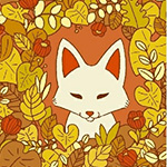 Forest Spirit - Fox in Persimmon