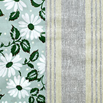Marguerite Stripe in Gray Line