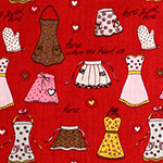 Aprons in Red